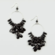 FULL TILT Facet Bead Cluster Earrings