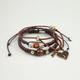 FULL TILT Heart Charm Three Piece Bracelets
