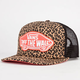 VANS Leopard Beach Girls Trucker Hat
