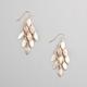 FULL TILT Diamond Dust Chandelier Earrings