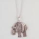 FULL TILT Filigree Elephant Pendant