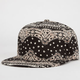 Bandana Womens Snapback Hat