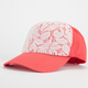 Lace Overlay Womens Hat