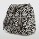T-SHIRT & JEANS Double Stud Buckle Ethnic Print Backpack