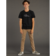 RSQ London Khaki Boys Skinny Stretch Chino Pants