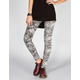 FULL TILT Ethnic Print Womens Ponte Leggings