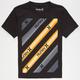 HURLEY Block Warp Boys T-Shirt