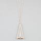 FULL TILT 3D Triangle Necklace