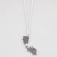 FULL TILT Cali Bear Cutout Necklace
