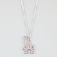 FULL TILT Rhinestone LA Necklace