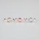FULL TILT 3 Piece Triangle/Circle/Heart Rings