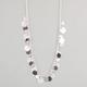 FULL TILT Diamond Dust Disc Necklace