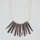 FULL TILT 2 Tone Bar Necklace