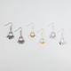 FULL TILT 3 Pairs Disc Shower Earrings
