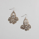 FULL TILT Teardrop Filigree Chandelier Earrings