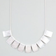 FULL TILT Diamond Dust Plate Necklace