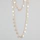 FULL TILT 2 Row Diamond Dust Disc Necklace