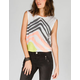 ROXY Perspective Womens Lattice Side Tank