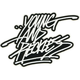 YOUNG & RECKLESS Vizzy Writing Sticker