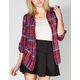 ALI & KRIS Womens Flannel Shirt