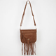 T-SHIRT & Jeans Fringe Crossbody Bag