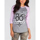 YOUNG & RECKLESS 86 Geometry Womens Baseball Tee