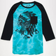 HURLEY Navajo Project Mens Baseball Tee