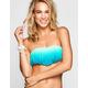DAMSEL Ombre Fringe Bandeau Bikini Top