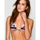 ROXY Sunset Stripe Racerback Halter Bikini Top