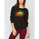 NOR CAL Split Bear Womens Sweatshirt