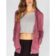 FULL TILT Womens Burnout Hoodie