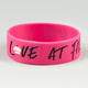 Love At First Bite Rubber Bracelet