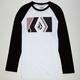 VOLCOM Geotomic Mens Raglan T-Shirt