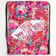 VANS Floral Print Benched Cinch Sack