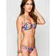 FULL TILT Mixed Media Strap Side Bikini Bottoms