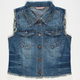 HIGHWAY Girls Denim Low Hi Vest