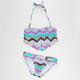 ROXY Sea Hippie Fringe Bandeau Girls Bikini