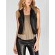 JACK BY BB DAKOTA Virgo Womens Faux Leather Vest