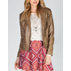 JACK BY BB DAKOTA Harlet Womens Faux Leather Moto Jacket