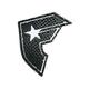 FAMOUS STARS & STRAPS Diamond Plate Sticker