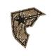 FAMOUS STARS & STRAPS Snake Skin Sticker