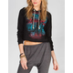 FULL TILT Elephant Womens Crop Hoodie