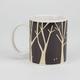 KIKKERLAND Woodlands Morphing Mug