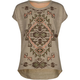 FULL TILT Aztec Chiffon Girls Hi Low Tee