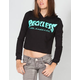 YOUNG & RECKLESS Battalion Womens Crop Hoodie