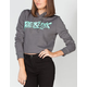 YOUNG & RECKLESS Altered Womens Crop Hoodie