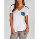 HURLEY Slouchy Womens Pocket Tee