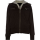 FULL TILT Girls Twill Hooded Bomber Jacket