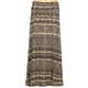 FULL TILT Ethnic Print Girls Hachi Knit Maxi Skirt