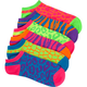 FULL TILT Animal Pattern 6 Pack Socks
